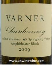Varner Santa Cruz Mtn Chardonnay 2009