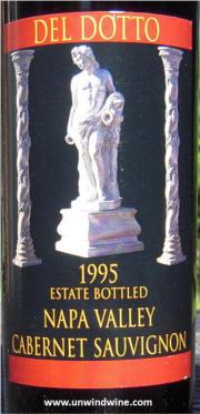 Del Dotto Vineyards Napa Valley Cabernet Sauvignon 1995