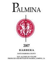 Palmina Santa Barbara Barbera 2007