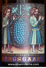 Kongsgaard Hundson Vineyard Syrah 2007