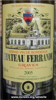 Chateau ferrande graves grand vin de bordeaux for Chateau ferrande