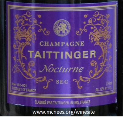 magnum taittinger nocturne