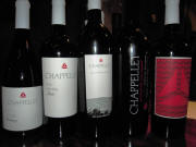 Chappellett Vineyard tasting flight