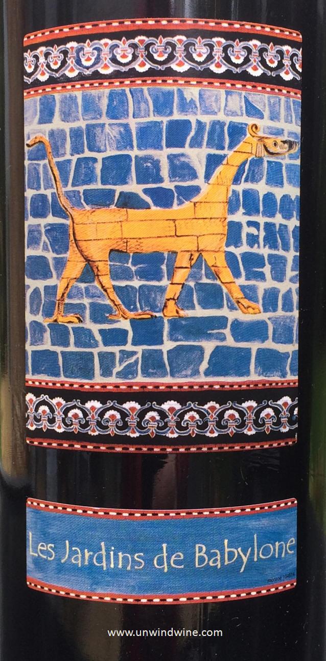 French wine labels on rick 39 s winesite for Jardin de babylone wine