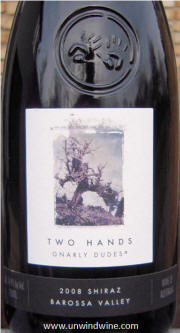 Two Hands Gnarly Dudes Barossa Shiraz 2008