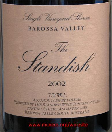 St hallett single vineyard shiraz