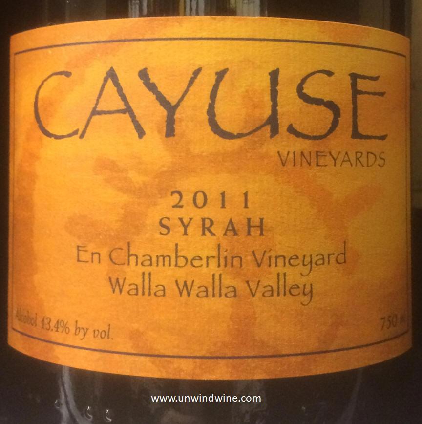 Northwest us producer wine labels on rick 39 s winesite for Cayuse vineyards