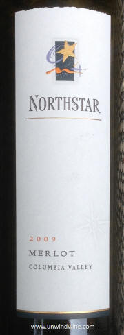 Northstar Columbia Valley Merlot 2009