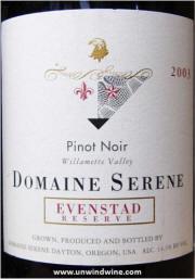 Domaine Serene Evenstad Reserve Pinot Noir 2003
