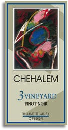 Chehalem 3 Vineyards Willamette Valley Pinot 2008