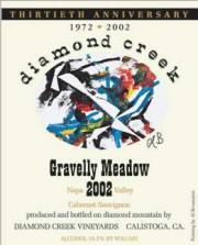 Diamond Creek Gravelly Meadow Cabernet Sauvignon 2002