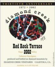 Diamond Creek Red Rock Terrace Cabernet Sauvignon 2002