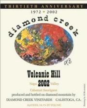Diamon Creek Volcanic Hill Cabernet Sauvignon 2002